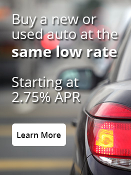 Buy a new or used auto at the same low rate.